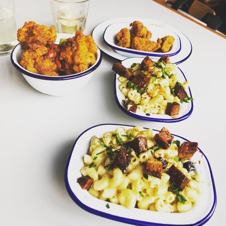 Vegan meal, The Birds, Leytonstone