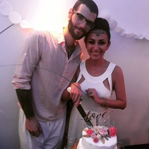 Manu and his wife