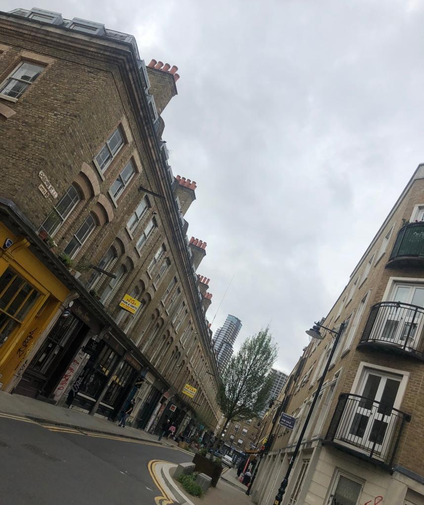 Cheshire Street near Brick Lane, London