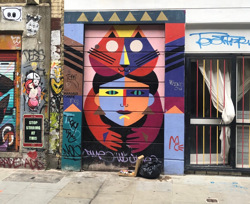 Graffiti near Brick Lane, London