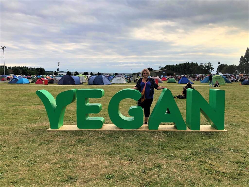 Karen_WY at the Vegan Campout 2021